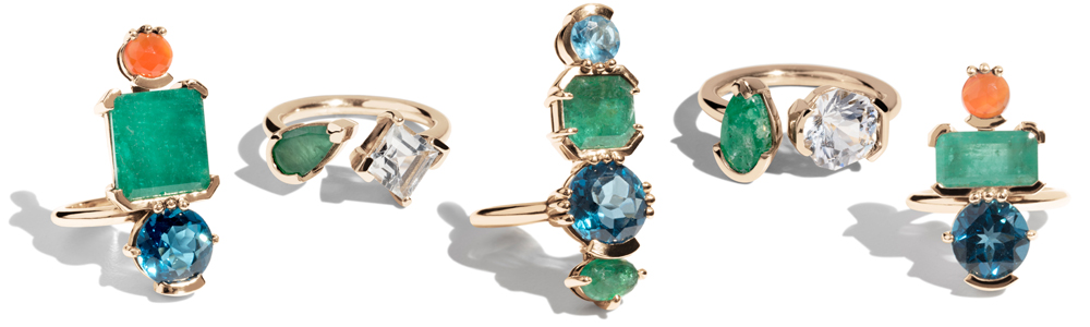 Bario Neal Ceres Collection Rings
