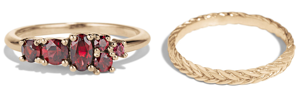 Gold Rings Under $2,000