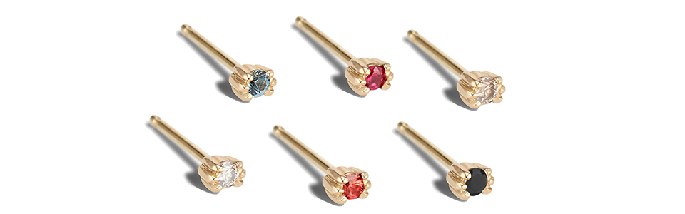 Photo of Bario Neal Mini Lash Studs for Guide to Ethical Jewelry