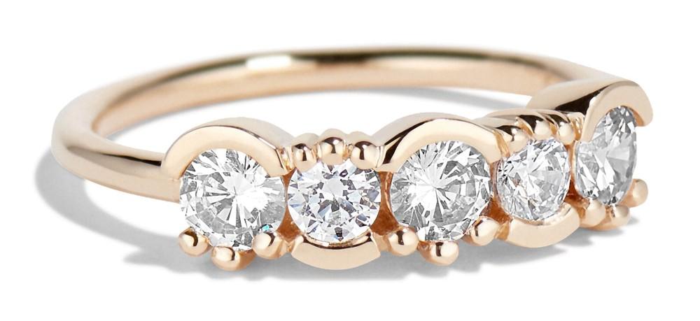 Lash Linear Diamond Ring