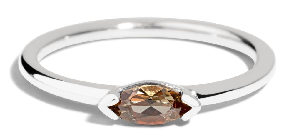Nikko Mini Andalusite Marquise Ring