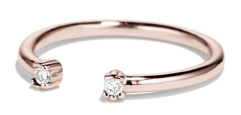 Open Lash Mini Diamond Ring