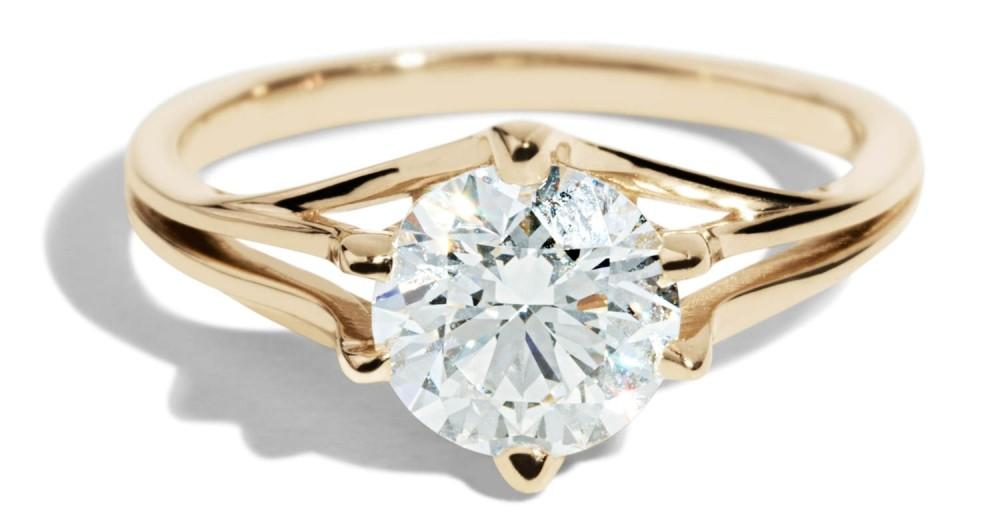 Custom Myrtle 1.2ct Diamond Ring