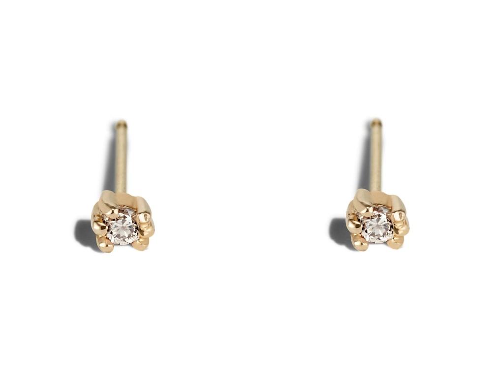 Lash Mini Diamond Studs