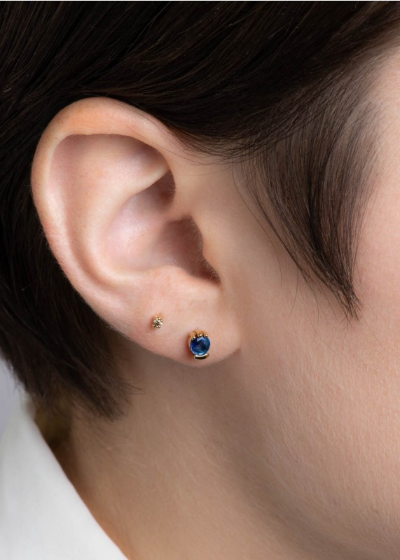 Lash Blue Sapphire Studs