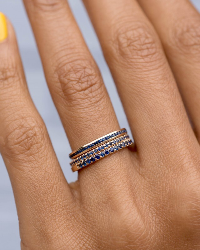 Channel Blue Sapphire Narrow Band