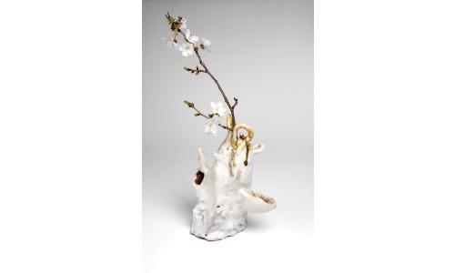 Soft White Vase