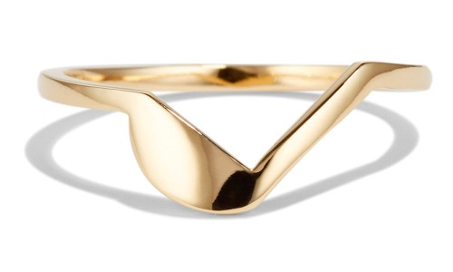 Icon Band in 14kt Yellow Gold