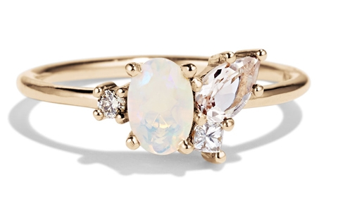 Opal and Morganite